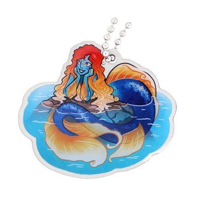 Hidden Creatures Travel Tag- Mermaid