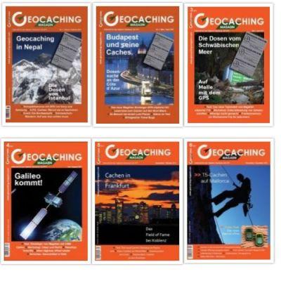 Geocaching Magazin Jahrgang 2011 (6 Hefte)