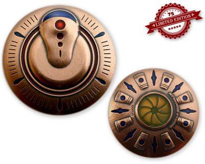 UFO Geocoin - Martian Edition XLE 75