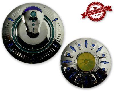 UFO Geocoin - Invader Edition XLE 75