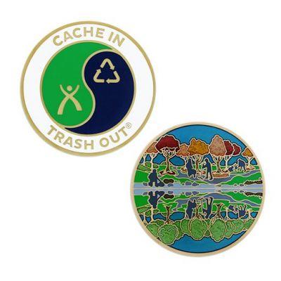 Cache In Trash Out (CITO) Geocoin 2019
