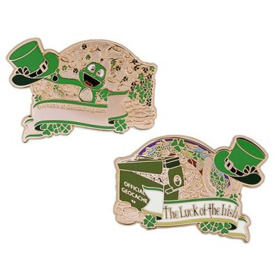 Luck of the Irish Geocoin 2019