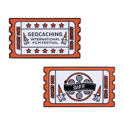 2019 GIFF Geocoin + Tag Set (2 Trackables)