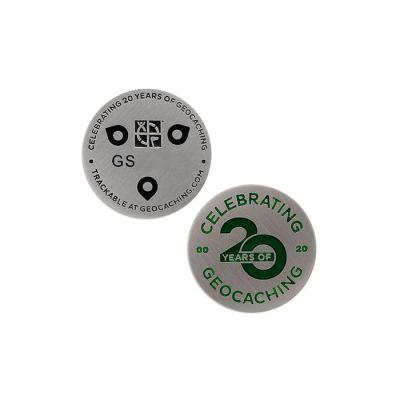 20 Jahre Geocaching - Micro Geocoin