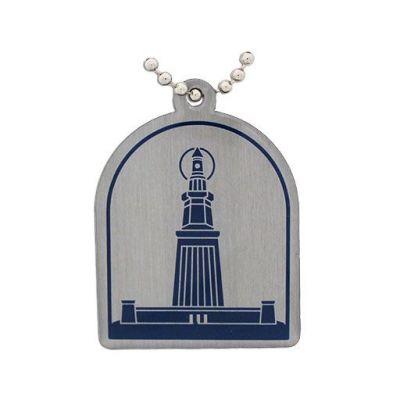 Antike Weltwunder Travel Tag - Leuchtturm von Alexandria