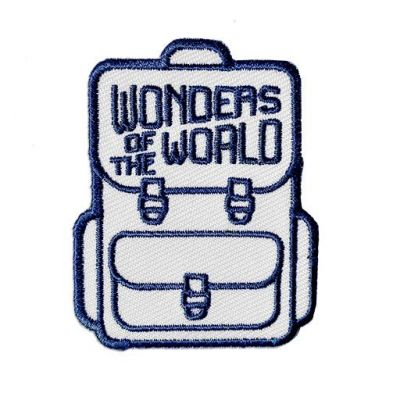Weltwunder Patch / Aufnäher