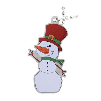 Slushy the Snowman Travel Tag
