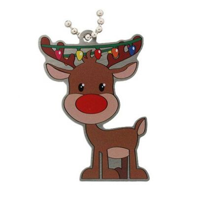 Weihnachtsedition: Reindeer Travel Tag