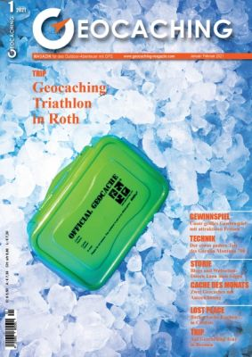 Geocaching Magazin 01/2021 Januar/Februar