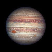 Wunder des Sonnensystems Travel Tag - Great Red Spot