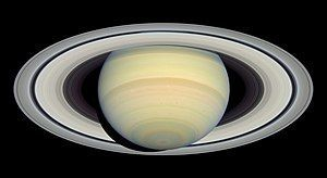 Wunder des Sonnensystems Travel Tag - Rings of Saturn