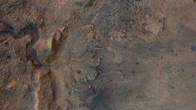 Wunder des Sonnensystems Travel Tag - Jezero Crater