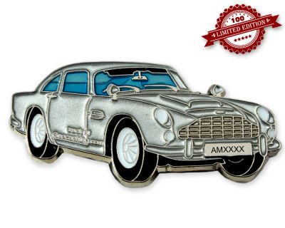 Aston Geocoin Silver Edition LE100