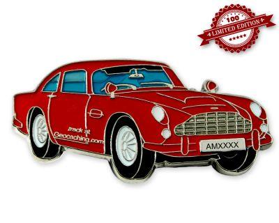 Aston Geocoin Red Edition LE100
