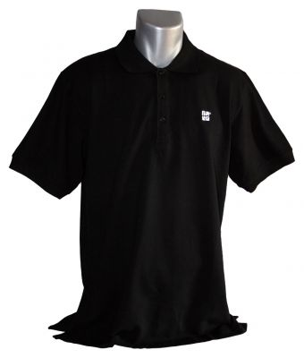 Geocaching.com Polo-Shirt - Schwarz -