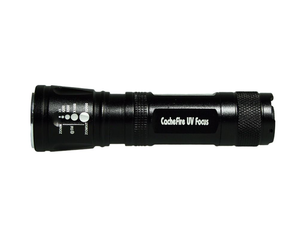 CacheFire UV FOCUS Lamp - High End UV flashlight - Geocoinshop.eu ...