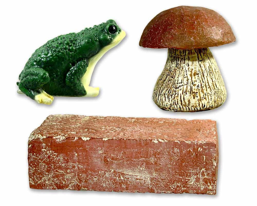 cachequarter tarnfix set ziegelstein pilz kr t geocaching shop. Black Bedroom Furniture Sets. Home Design Ideas