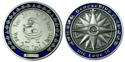 My Own Geocoin -SANTA CLAUS- with individual engraving text