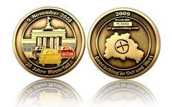 20 Jahre Mauerfall  Antik Gold