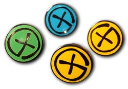 Geocaching Pin Black Nickel