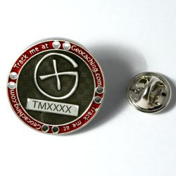 Track Me Pin (Silver)
