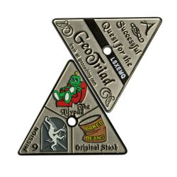 GeoTriad Geocoin Two Tone