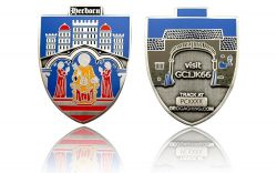 Herborn Geocoin Antique Silver LE