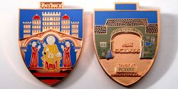 Herborn Geocoin Polished Copper LE 100