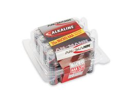 20 x Ansmann AAA (Micro) Alkaline Batterie