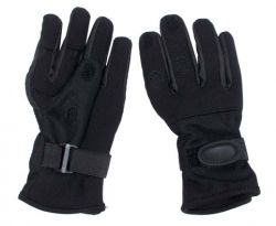 Fingered Neoprene Gloves black