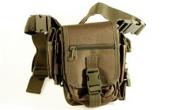 Geocaching Outdoortasche, steingr�n