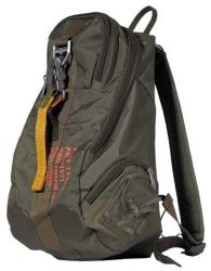 Geocaching outdoor backpack with clipper
