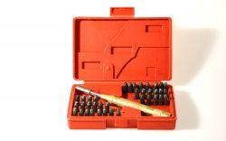 Einschlag-Set Pro Zahlen + Buchstaben 38-tlg
