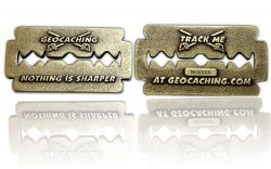 Nothing is Sharper Geocoin Antik Bronze