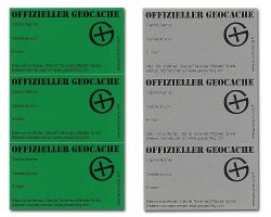 Micro Cache Sticker GERMAN (3 pcs.)