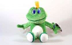 Signal the Frog® Plush Suction Cup