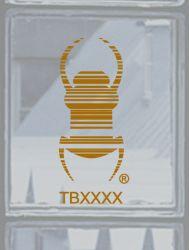 Groundspeak Travelbug® Aufkleber GOLD, konturgeschnitten