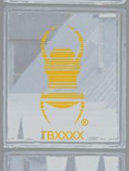 Groundspeak Travelbug® Aufkleber GELB, konturgeschnitten