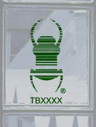 Groundspeak Travelbug® Aufkleber GR?N, konturgeschnitten