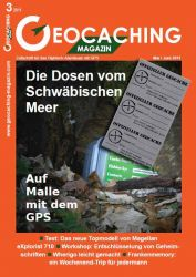 Geocaching Magazin 03/2011 Mai/Juni