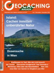 Geocaching Magazin 02/2010 November/Dezember