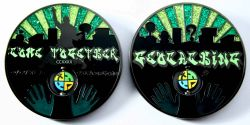 Come Together 2011 Geocoin Black Nickel GREEN XLE 75