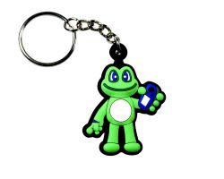 Signal Frog key pendant trackable