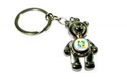 Geocaching TEDDY Pendant Key