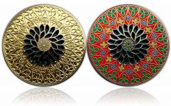 Official Portuguese 2011 Geocoin Gold / Nickel