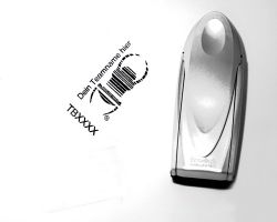 Travelbug® Stempel to GO mit Teamname