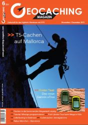 Geocaching Magazin 06/2011 November/Dezember