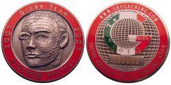 Giosa Personal Geocoin Antik Silber LE