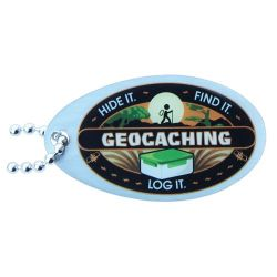 Hide it Find IT Geocaching Travel Tag
