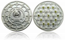 The Colors of Geocaching Geocoin - OPTIMISM - Satin Silver LE
